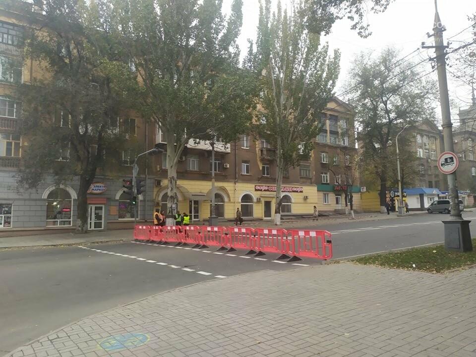 Из-за форума центр Мариуполя перекрыт полицией, - ФОТО, фото-8
