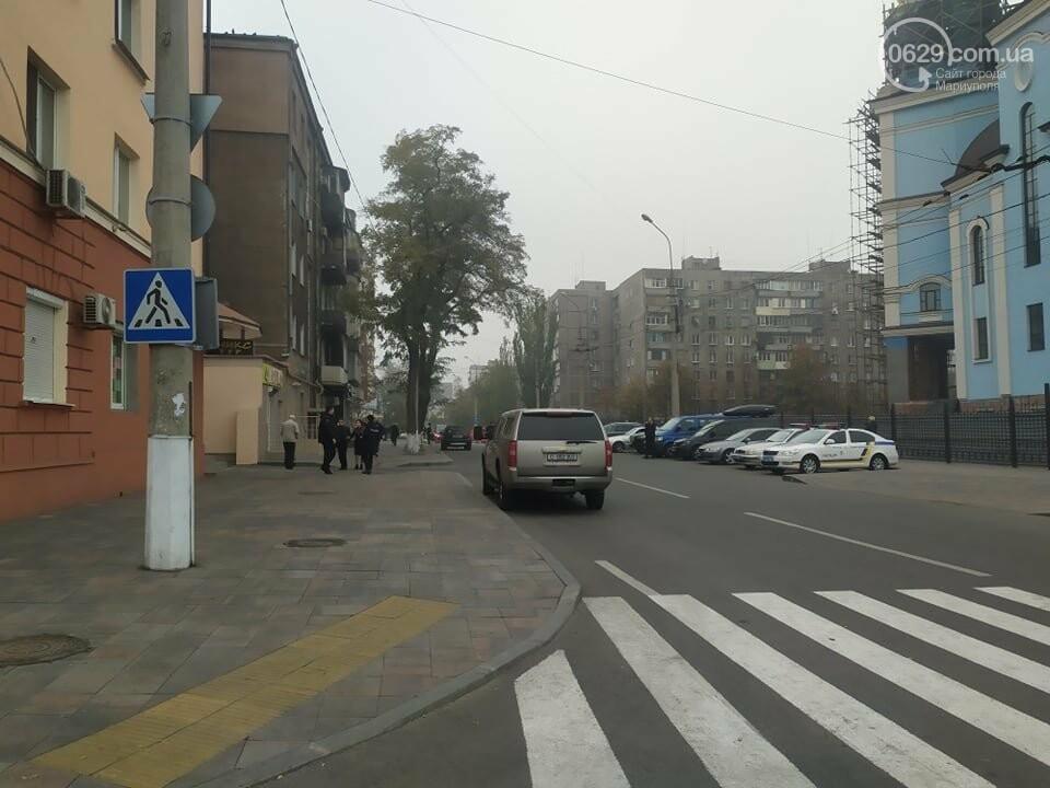 Из-за форума центр Мариуполя перекрыт полицией, - ФОТО, фото-3