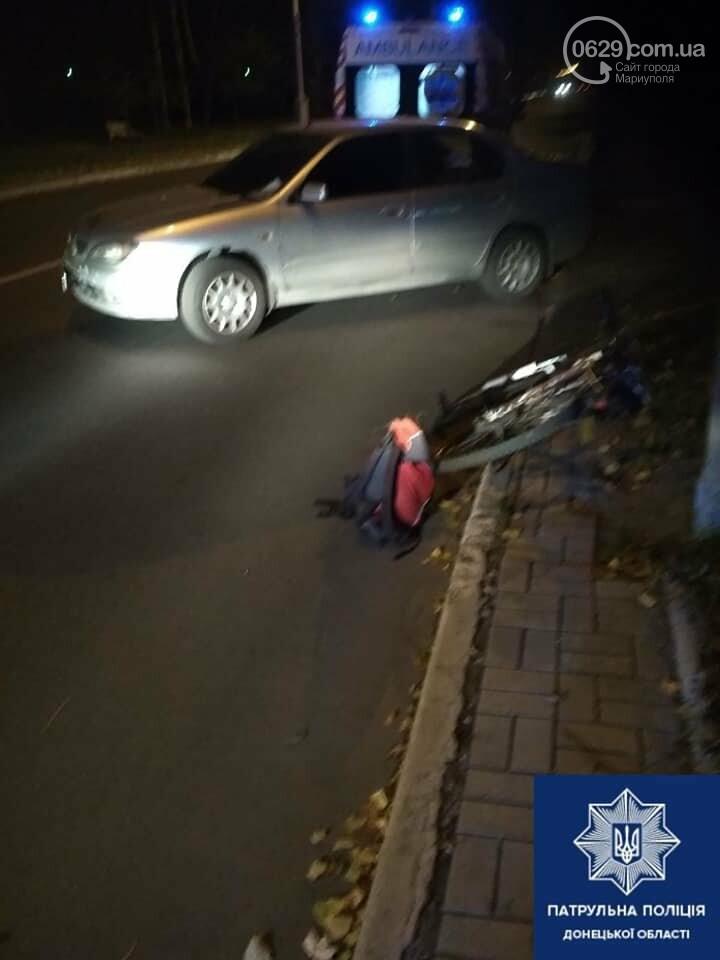 В Мариуполе сбили велосипедиста, - ФОТО, фото-2