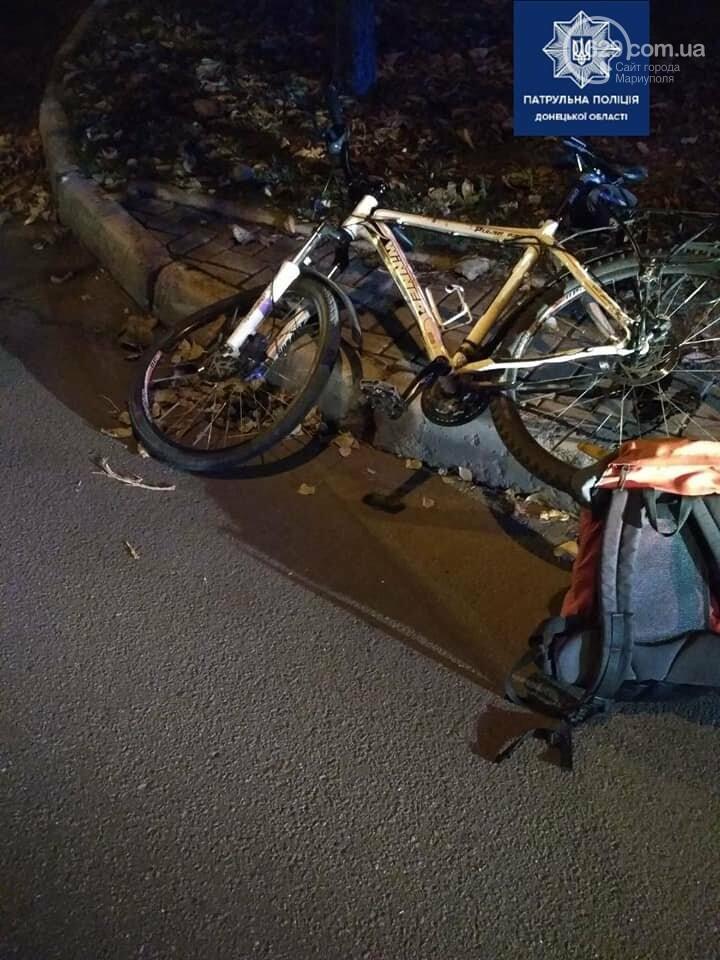 В Мариуполе сбили велосипедиста, - ФОТО, фото-1