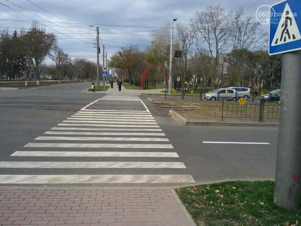 """В Мариуполе на """"скандальном"""" перекрестке  до сих пор нет светофоров для пешеходов, - ФОТО, ВИДЕО, фото-1"""
