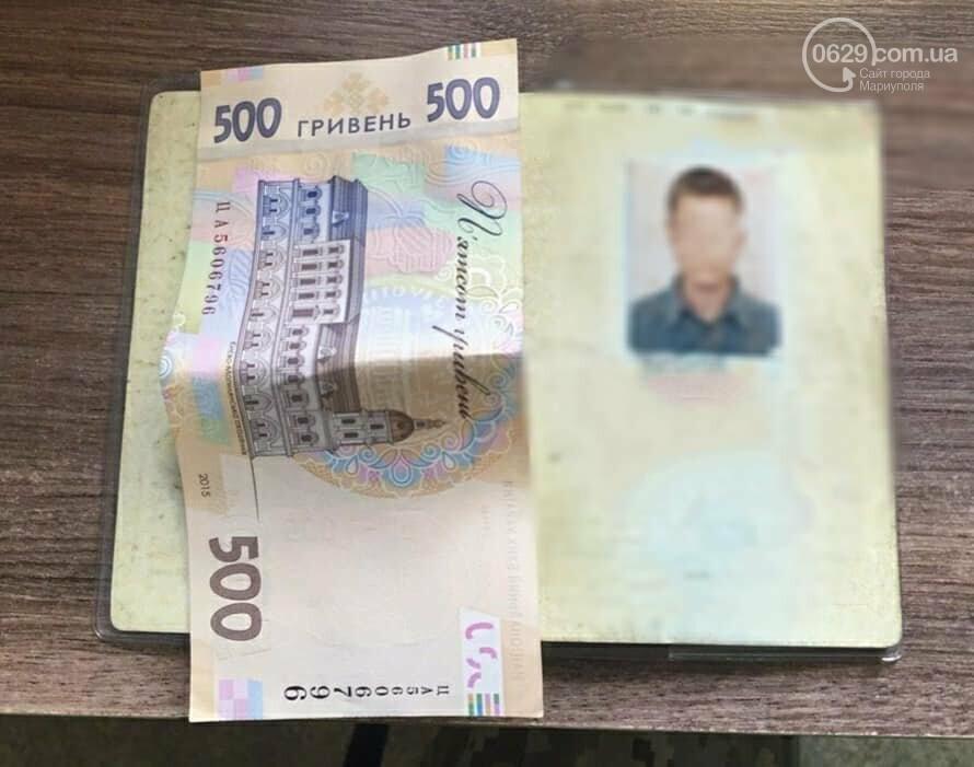 КПВВ под Мариуполем пытался пересечь мужчина с поддельным паспортом, - ФОТО, фото-1