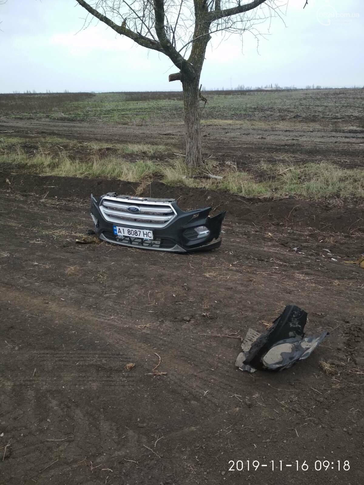 Под Мариуполем трижды перевернулся «Форд», - ФОТО, фото-8