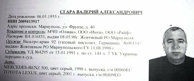 """Задержали подозреваемого в убийстве мариупольского """"авторитета"""" Валерия Сгары,- ФОТО, фото-1"""