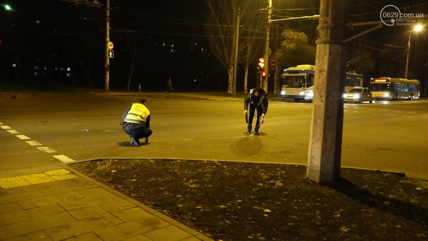 В Мариуполе на перекрестке «Мерседес» зацепил маршрутку, - ФОТО, фото-10