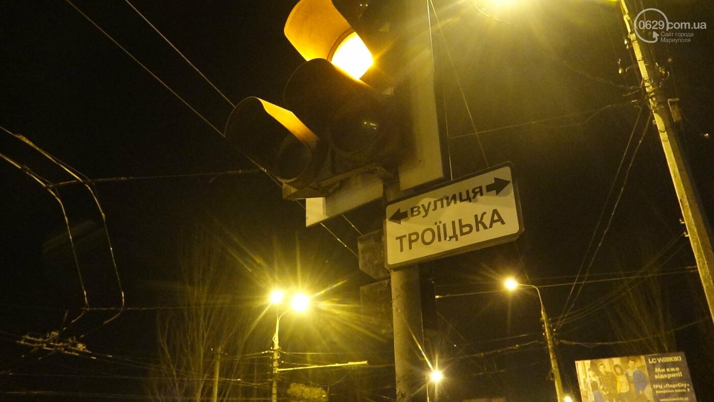 В Мариуполе на перекрестке «Мерседес» зацепил маршрутку, - ФОТО, фото-17