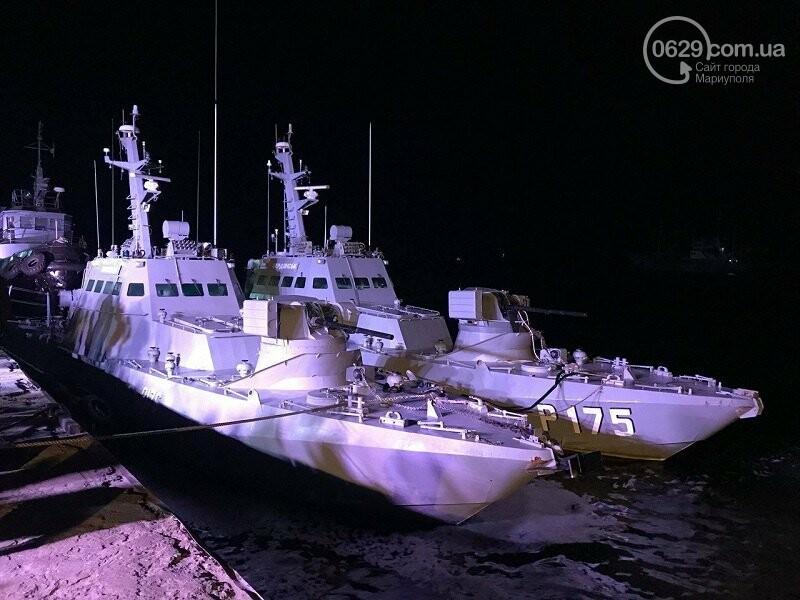 РФ вернула разграбленными военные корабли, которые год назад шли в Мариуполь , фото-2