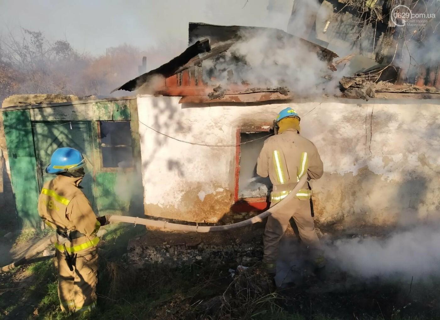 Мариуполец едва не погиб во время пожара,- ФОТО, фото-1
