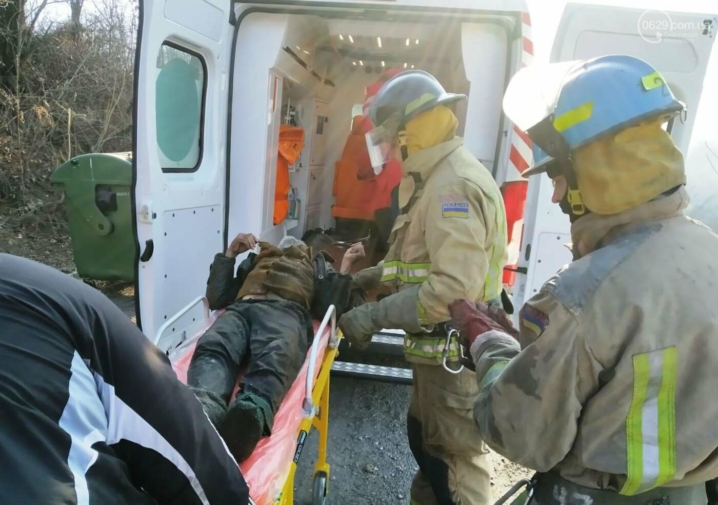 Мариуполец едва не погиб во время пожара,- ФОТО, фото-2