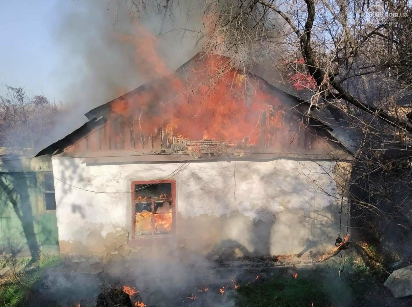 Мариуполец едва не погиб во время пожара,- ФОТО, фото-3
