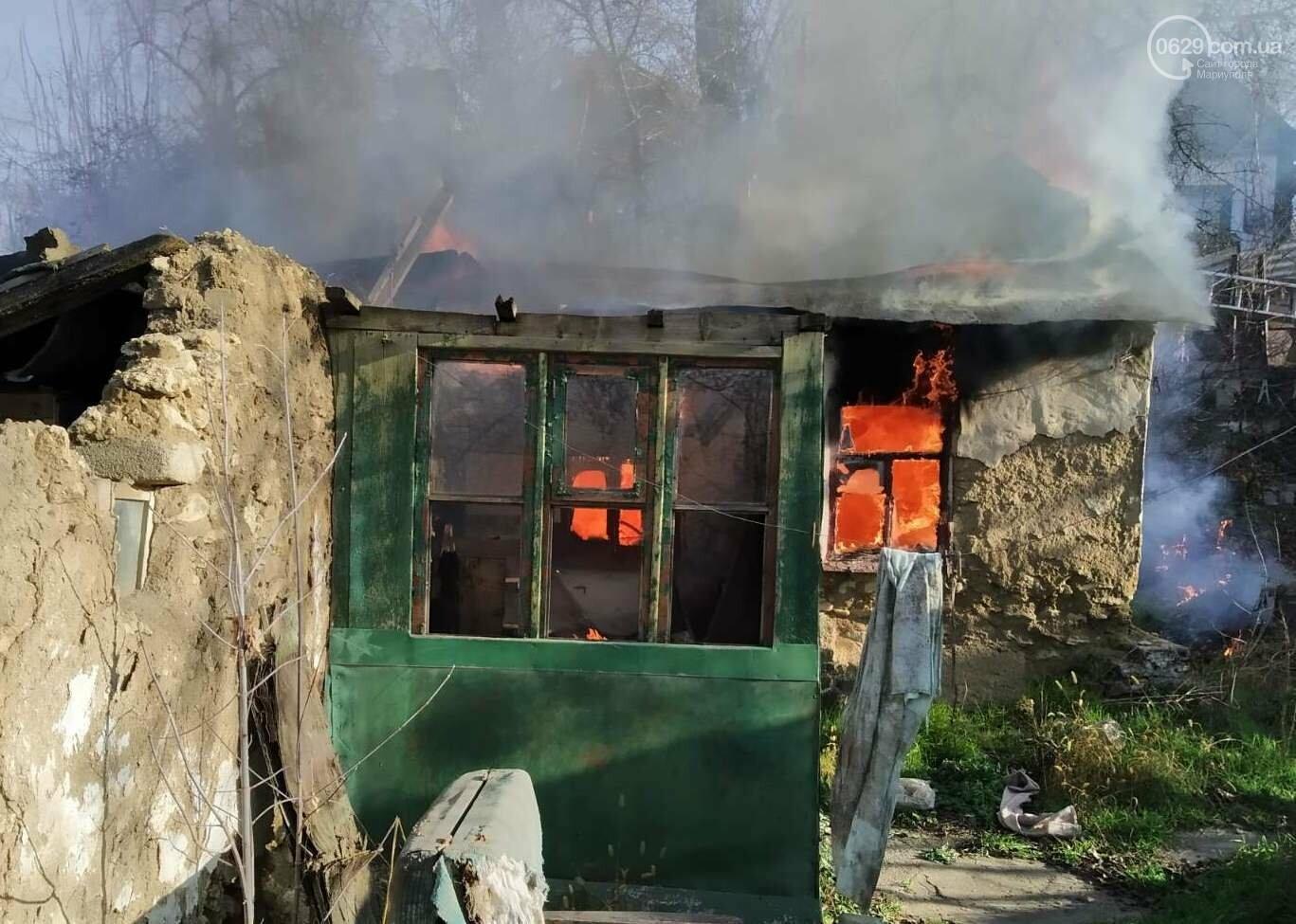 Мариуполец едва не погиб во время пожара,- ФОТО, фото-4