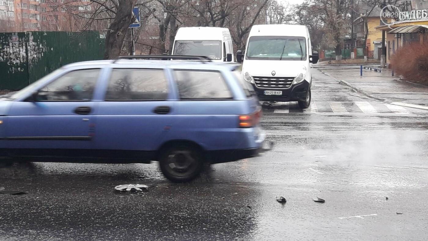 В Мариуполе тройное ДТП спровоцировало затор, - ФОТО, фото-7