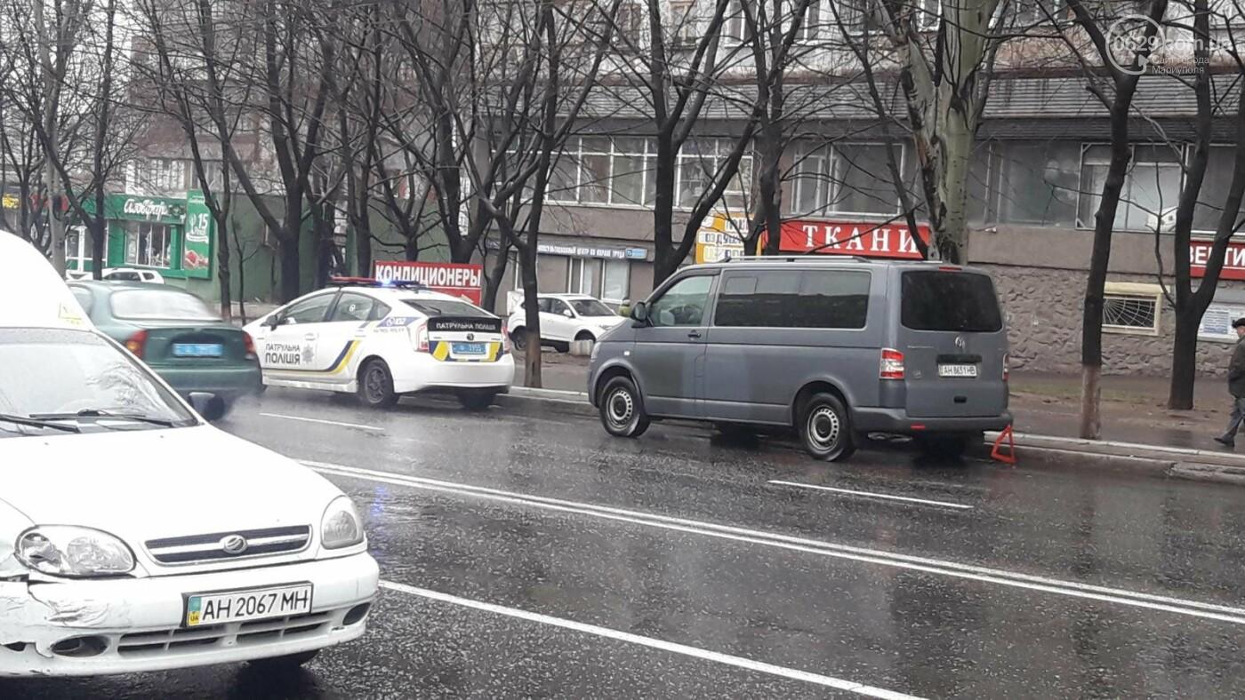 В Мариуполе тройное ДТП спровоцировало затор, - ФОТО, фото-5