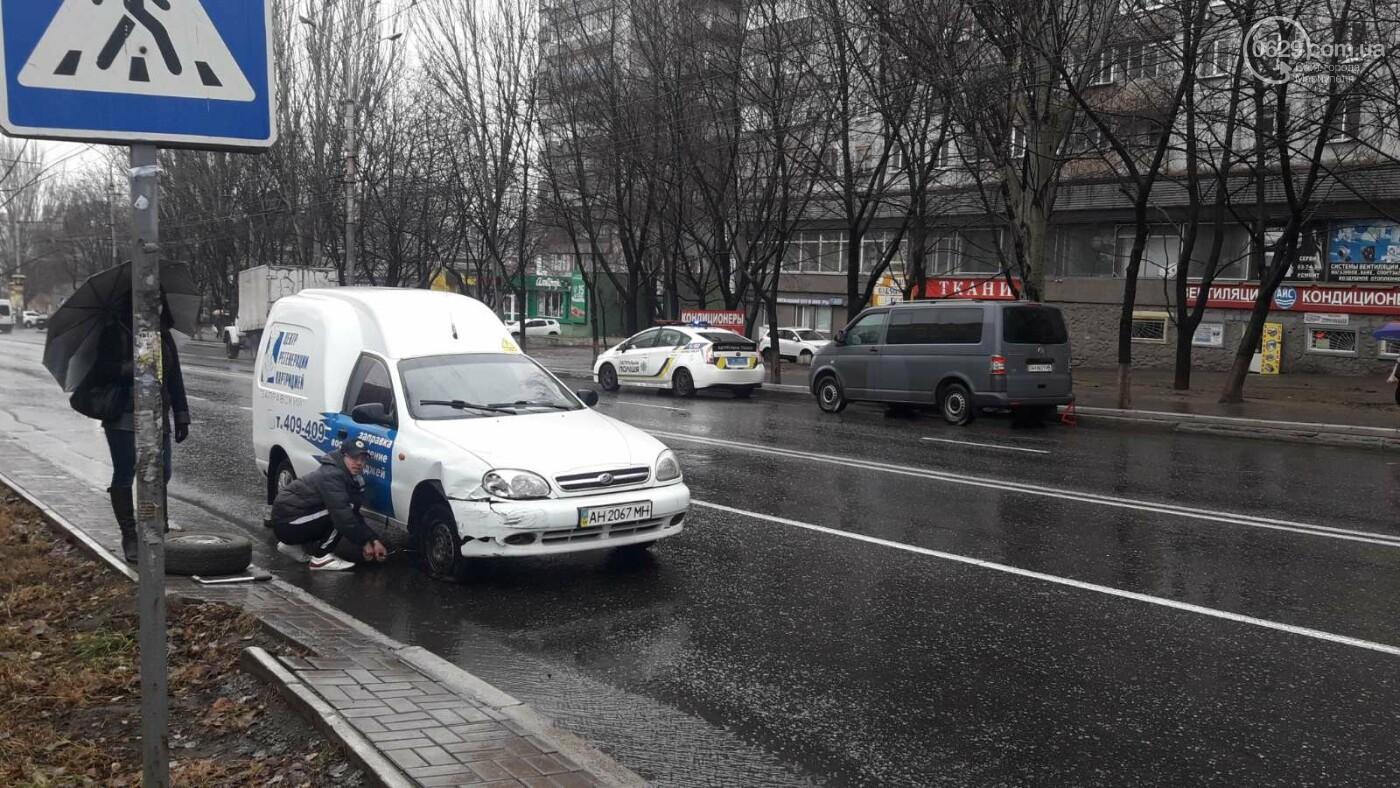 В Мариуполе тройное ДТП спровоцировало затор, - ФОТО, фото-4