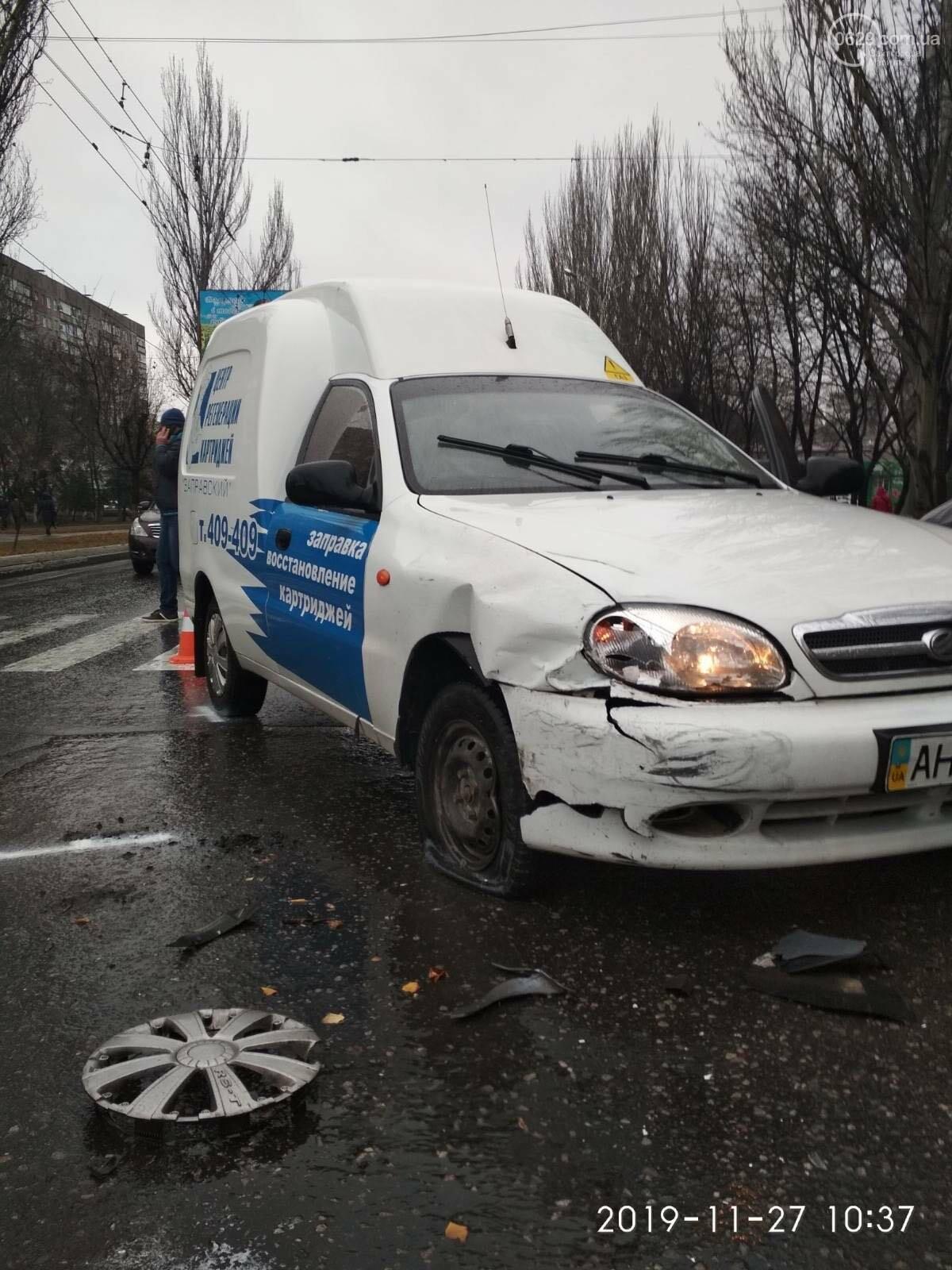 В Мариуполе тройное ДТП спровоцировало затор, - ФОТО, фото-12