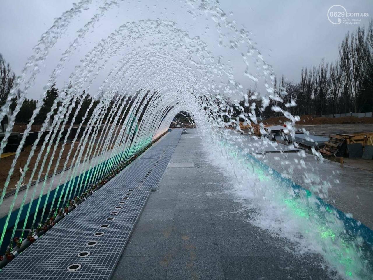 В Мариуполе испытали новый фонтан на площади Свободы,- ФОТОФАКТ, фото-1