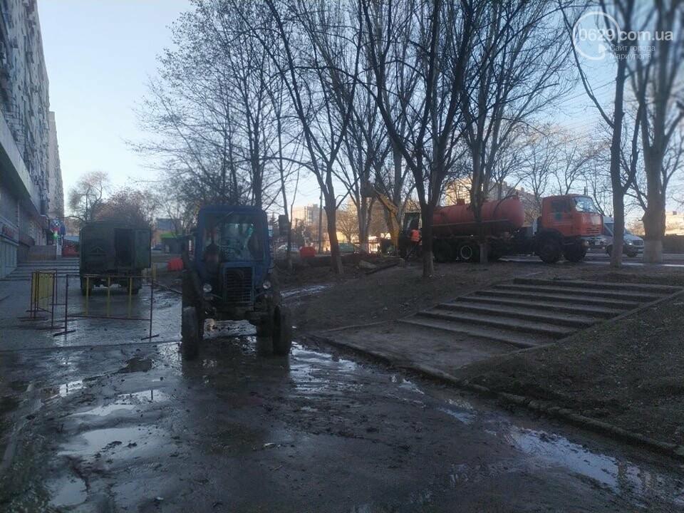 """В Мариуполе коммунальщики создали ледовый каток возле """"Клеопатры"""", - ФОТОФАКТ, фото-7"""