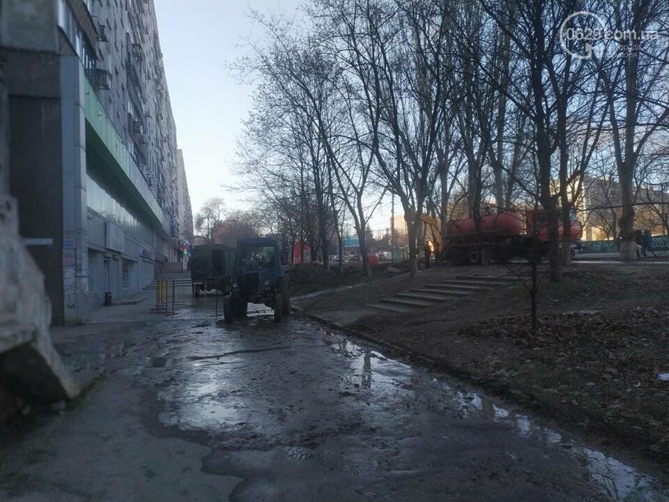 """В Мариуполе коммунальщики создали ледовый каток возле """"Клеопатры"""", - ФОТОФАКТ, фото-5"""