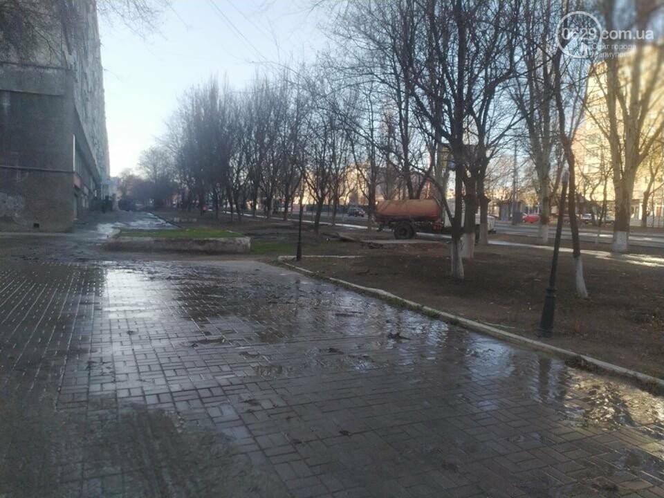"""В Мариуполе коммунальщики создали ледовый каток возле """"Клеопатры"""", - ФОТОФАКТ, фото-4"""