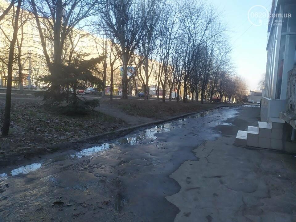 """В Мариуполе коммунальщики создали ледовый каток возле """"Клеопатры"""", - ФОТОФАКТ, фото-2"""