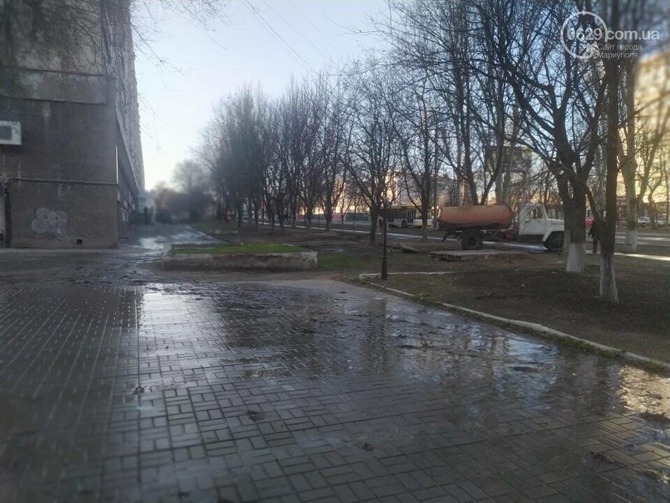 """В Мариуполе коммунальщики создали ледовый каток возле """"Клеопатры"""", - ФОТОФАКТ, фото-6"""
