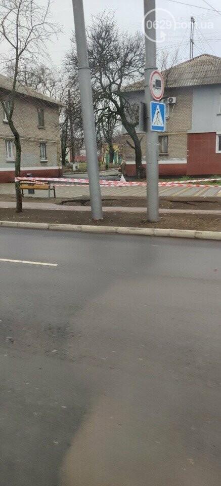 В центре Левого берега после реконструкции образовался провал,- ФОТО, ВИДЕО, фото-2