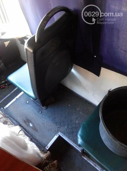 В переполненной мариупольской маршрутке пассажирское ведро не заплатило за проезд, - ФОТО, фото-3