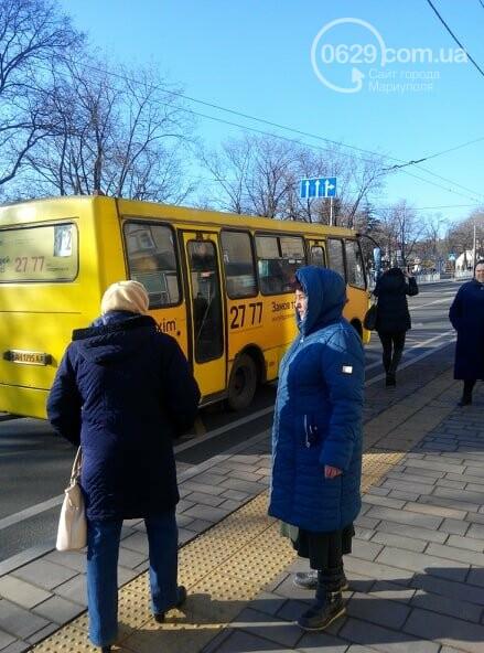 В переполненной мариупольской маршрутке пассажирское ведро не заплатило за проезд, - ФОТО, фото-4