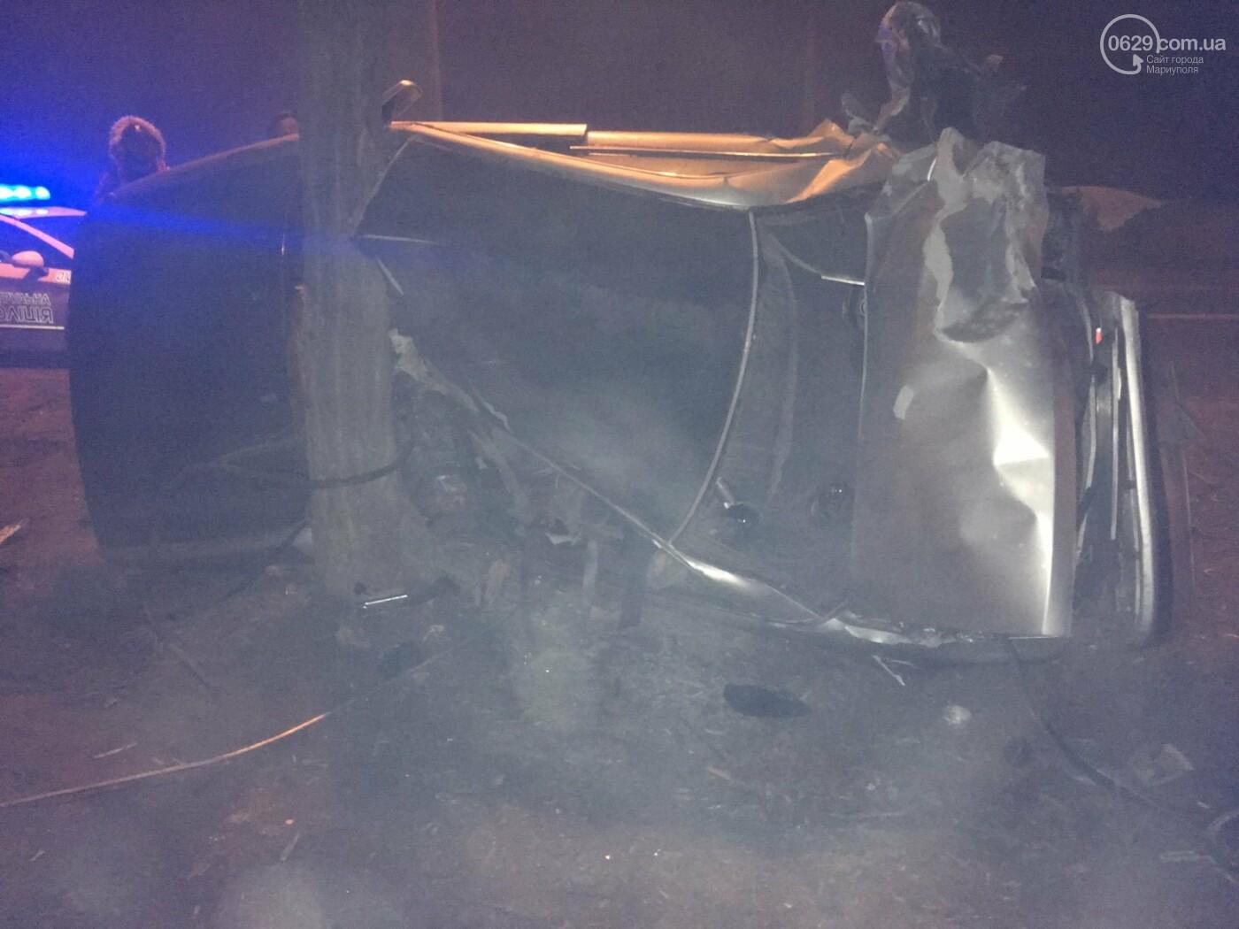 Жуткая авария на Левобережье Мариуполя. Пострадали четверо человек, - ФОТО, фото-4