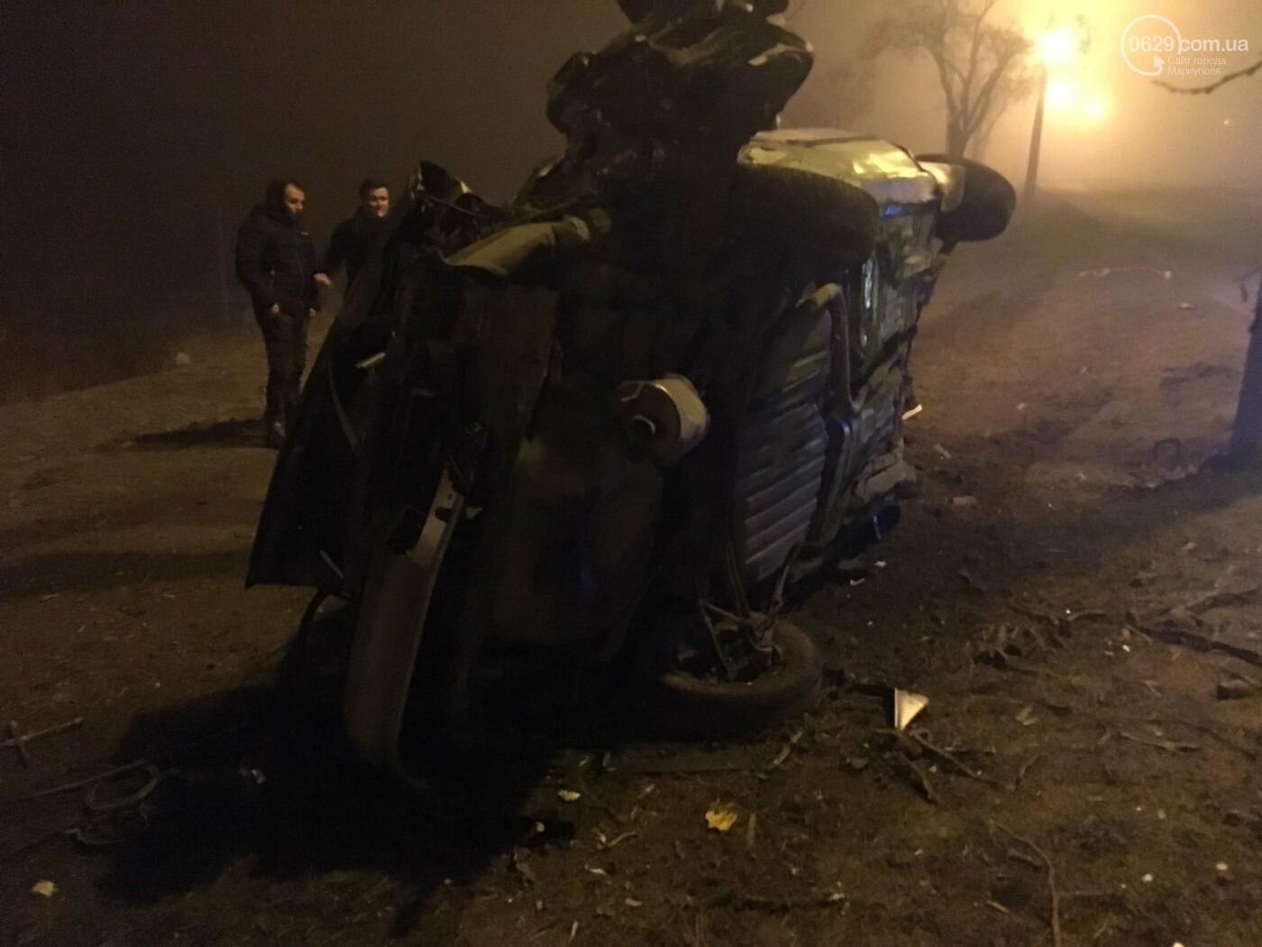 Жуткая авария на Левобережье Мариуполя. Пострадали четверо человек, - ФОТО, фото-3