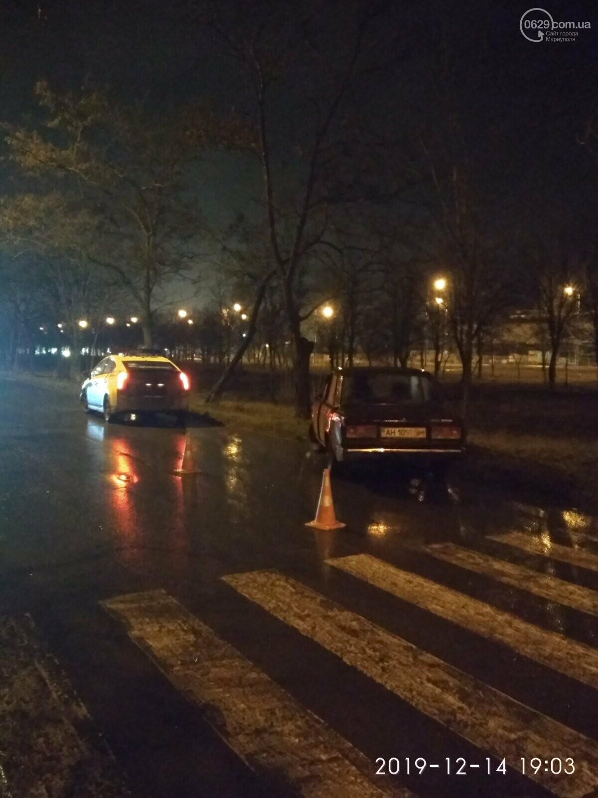 """В Мариуполе на """"зебре"""" сбили пешехода, - ФОТО, фото-2"""