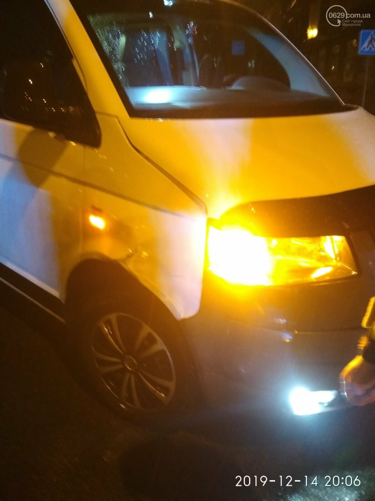В Мариуполе ухудшилась ситуация на дорогах.  Четвертая авария за вечер, - ФОТО, фото-4