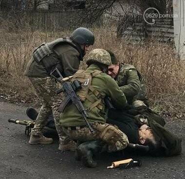 """Боевики """"ДНР"""" убили мирного жителя в Марьинке, - ФОТО, фото-1"""