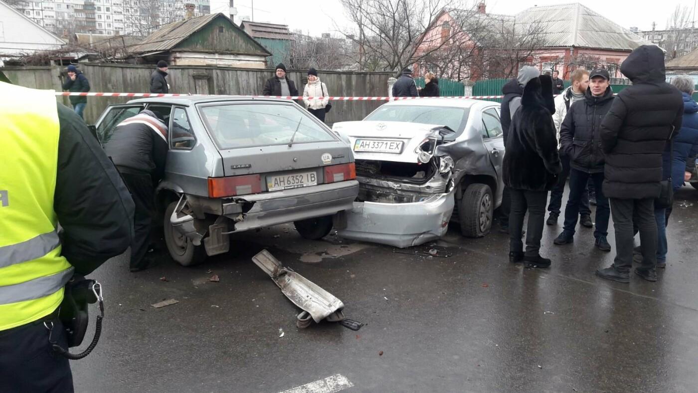 Масштабная авария в Левобережном районе. Виновник был пьян, - ФОТО, фото-3