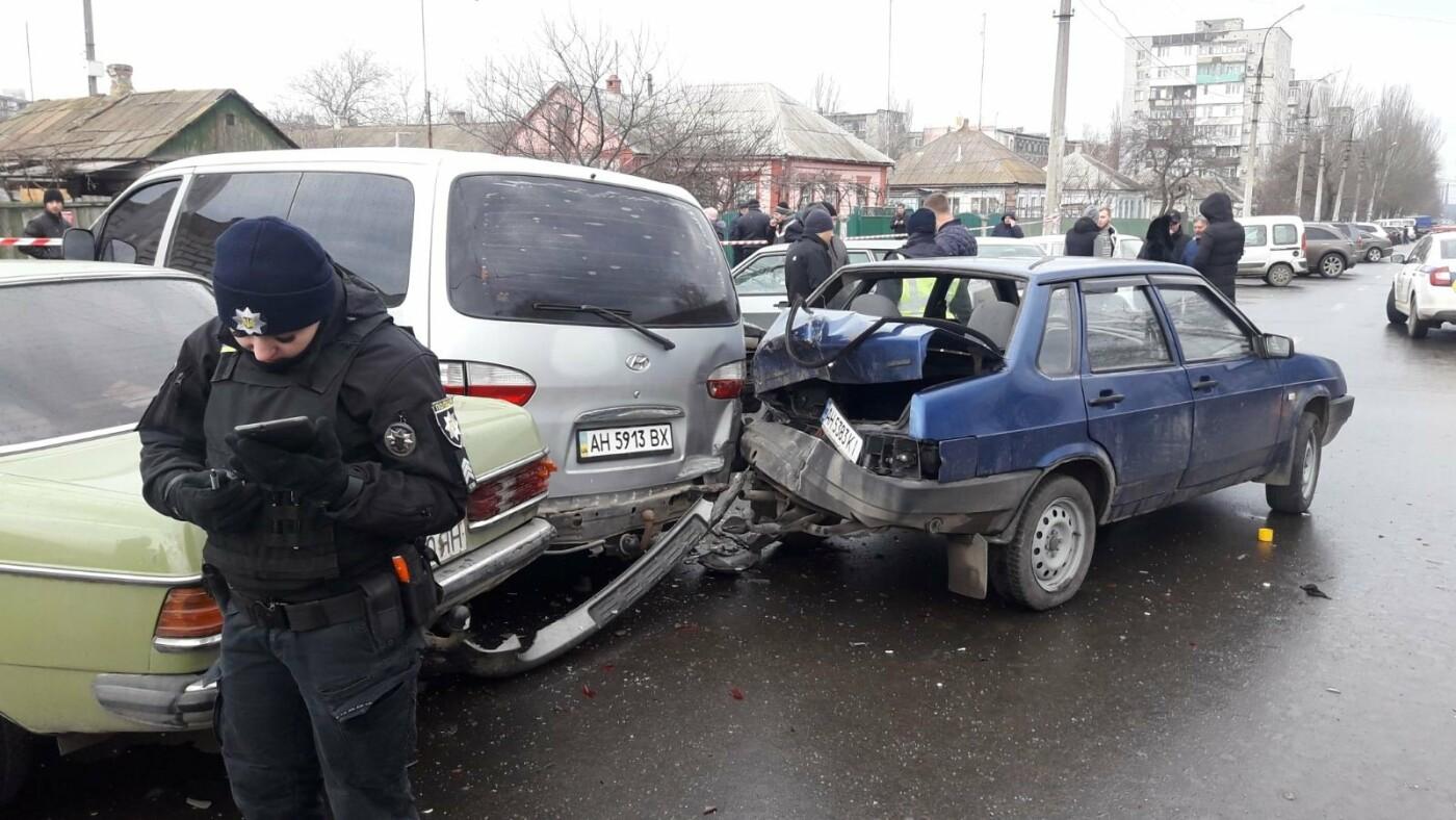 Масштабная авария в Левобережном районе. Виновник был пьян, - ФОТО, фото-5