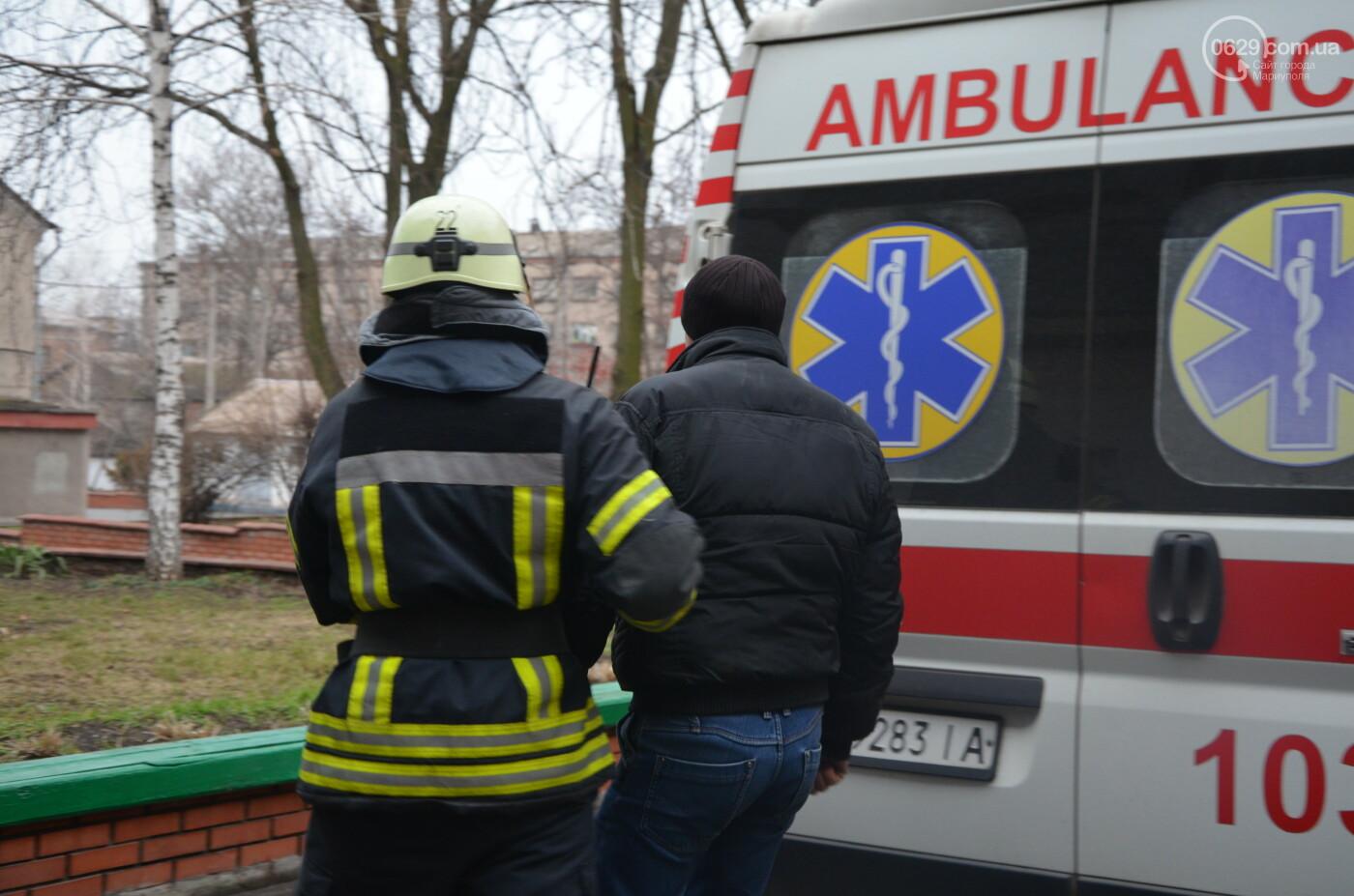 """Спасатели """"тушили пожар"""" и эвакуировали студентов из ПГТУ, - ФОТОРЕПОРТАЖ, фото-5"""