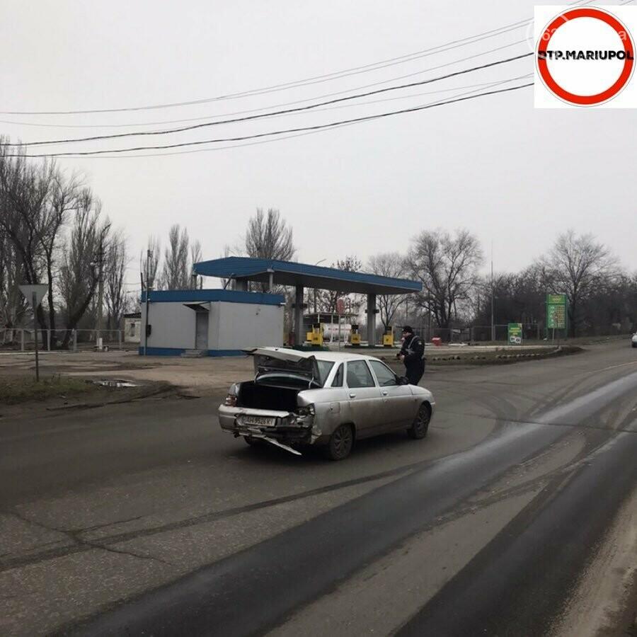 """В Мариуполе столкнулись """"ВАЗ"""" и """"Форд, - ФОТО, фото-4"""