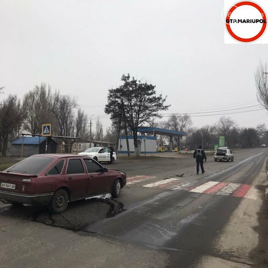 """В Мариуполе столкнулись """"ВАЗ"""" и """"Форд, - ФОТО, фото-3"""