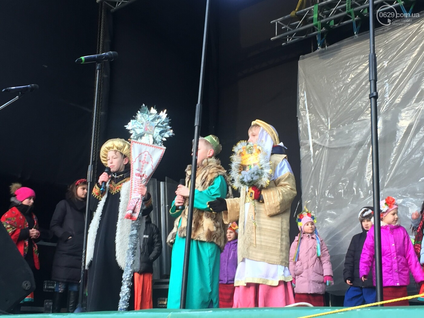 В Мариуполе прошёл первый фестиваль колядок, фото-2