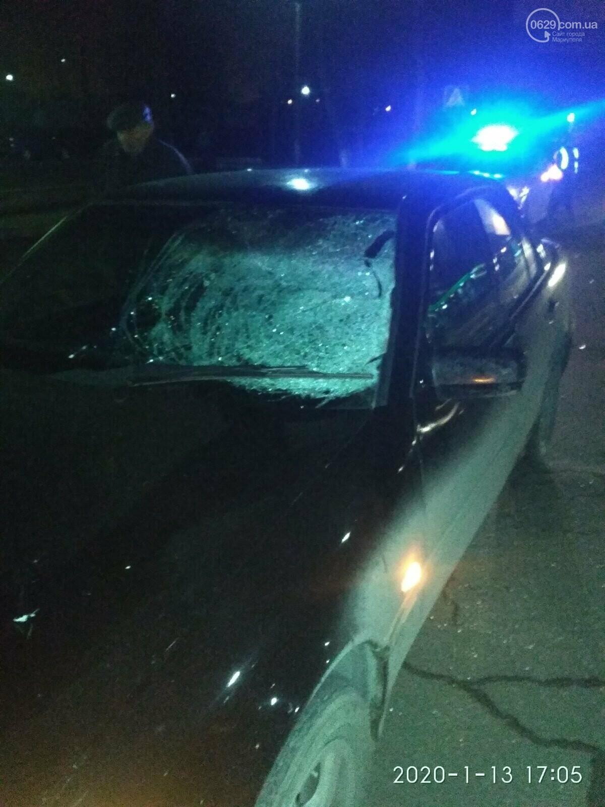 В Мариуполе на «зебре» сбили пешехода, - ФОТО, фото-1