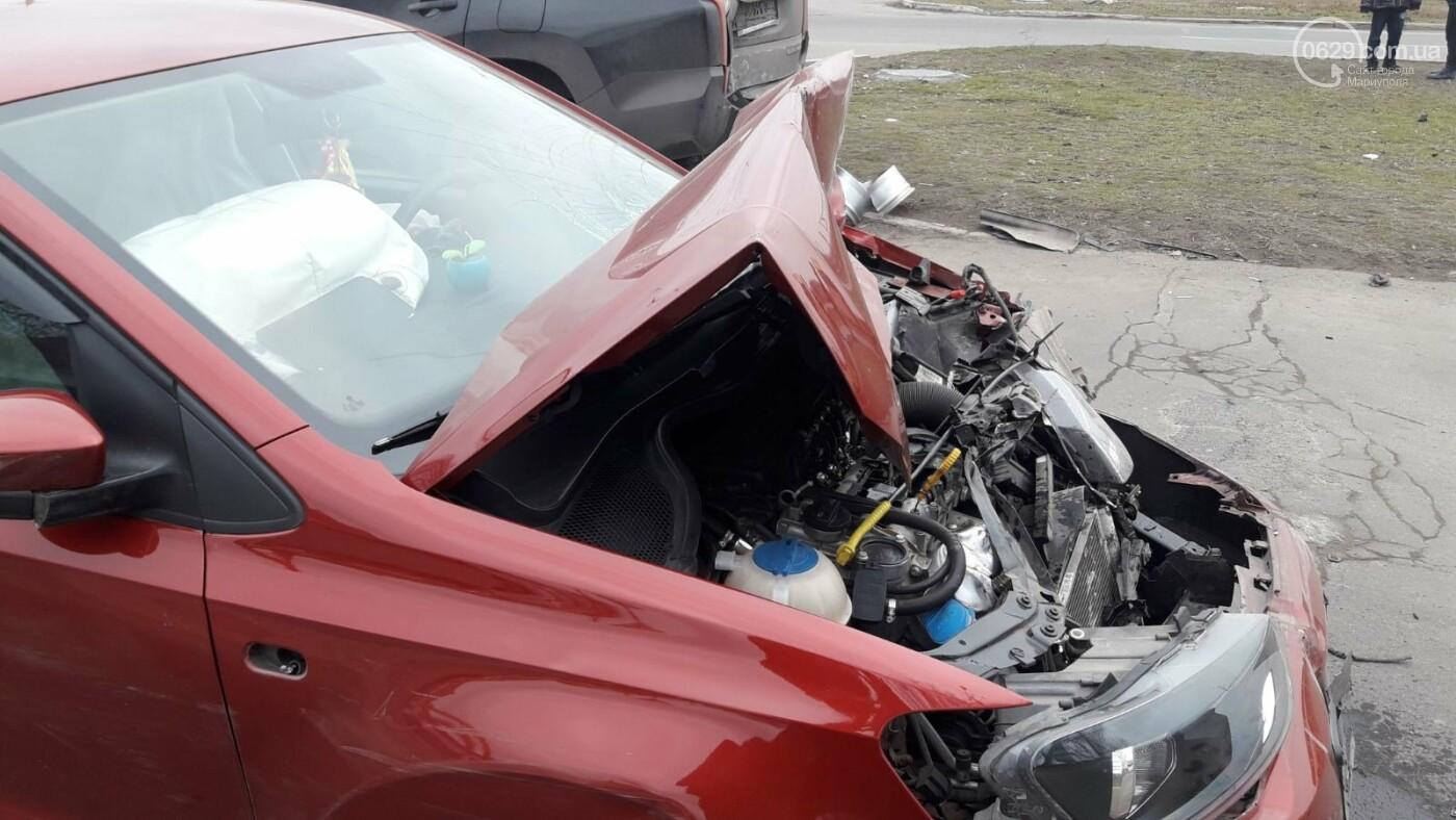Тройное ДТП в Левобережном районе: перевернулся автомобиль, есть пострадавшие - ФОТО, ВИДЕО, фото-3