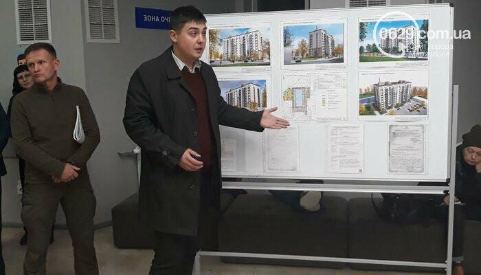 В Мариуполе ночью строят дом для сотрудников СБУ,  - ВИДЕО, ДОПОЛНЕНО, фото-1