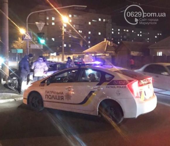 В Левобережном районе столкнулись автомобиль охраны и грузовик,- ФОТО, фото-1