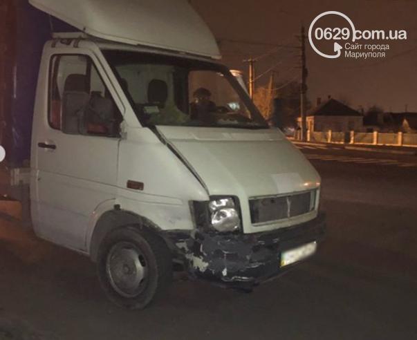 В Левобережном районе столкнулись автомобиль охраны и грузовик,- ФОТО, фото-4