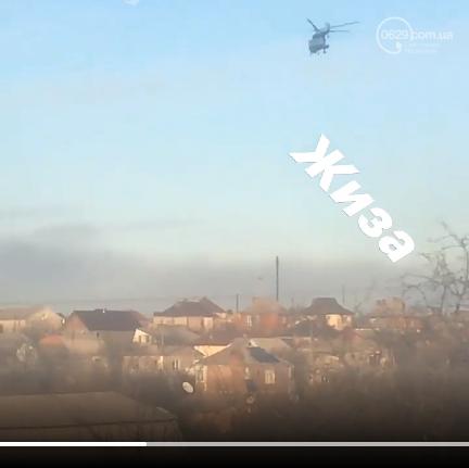 Над Мариуполем пролетел вертолет, - ФОТОФАКТ, фото-1