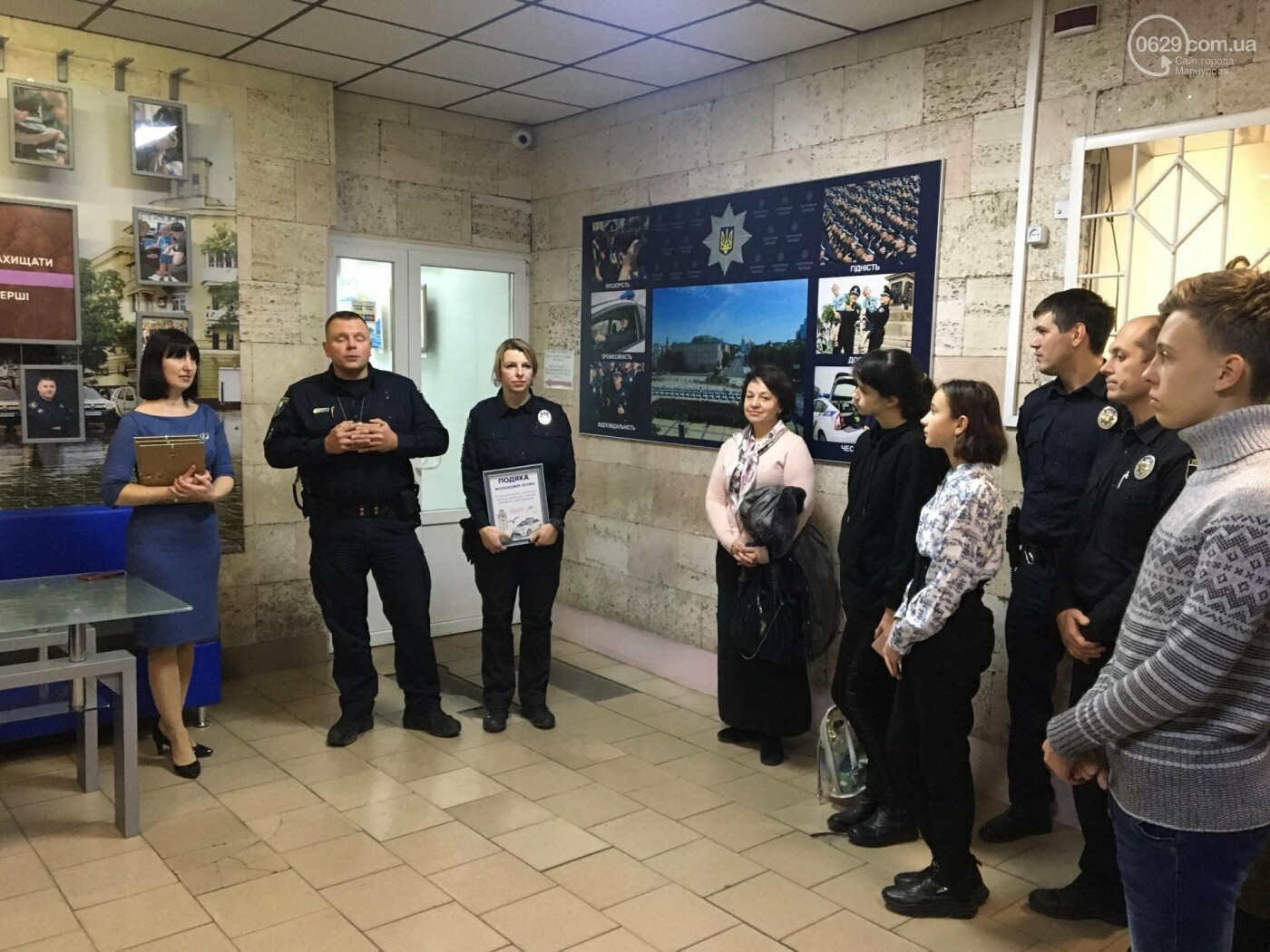 В патрульной полиции открыли картинную галерею,- ФОТО, фото-3