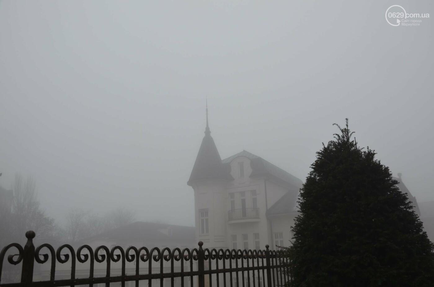 Мариуполь в тумане, усиливаются неблагоприятные метеорологические условия, - ФОТО, фото-1