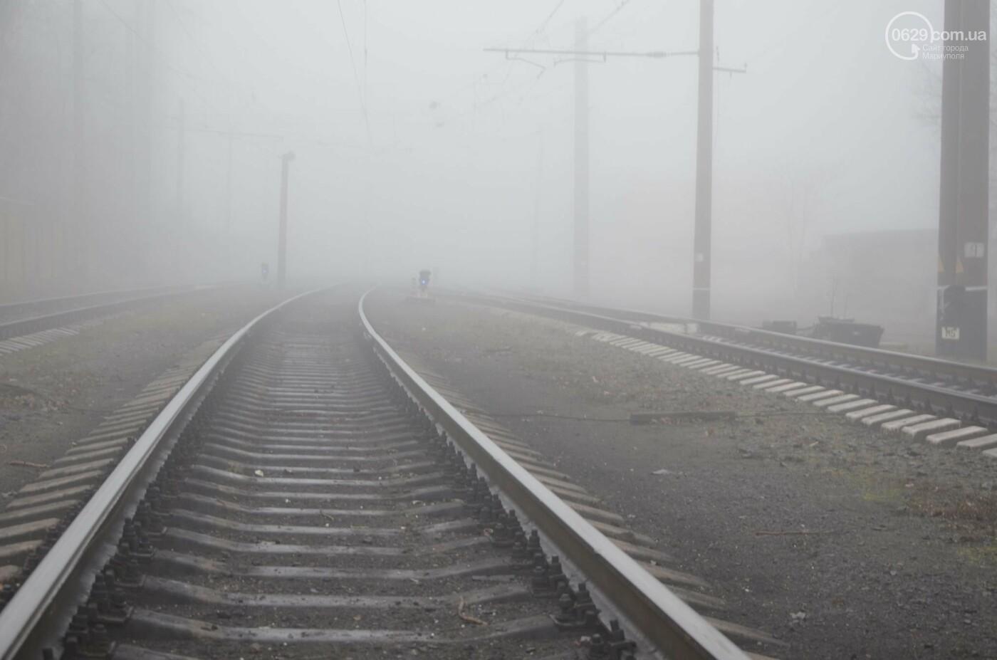 Мариуполь в тумане, усиливаются неблагоприятные метеорологические условия, - ФОТО, фото-3