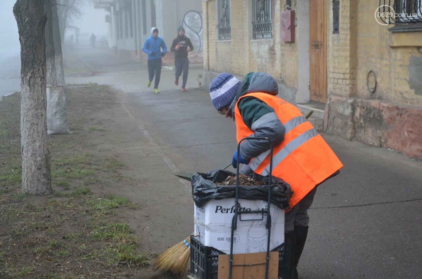 Мариуполь в тумане, усиливаются неблагоприятные метеорологические условия, - ФОТО, фото-8