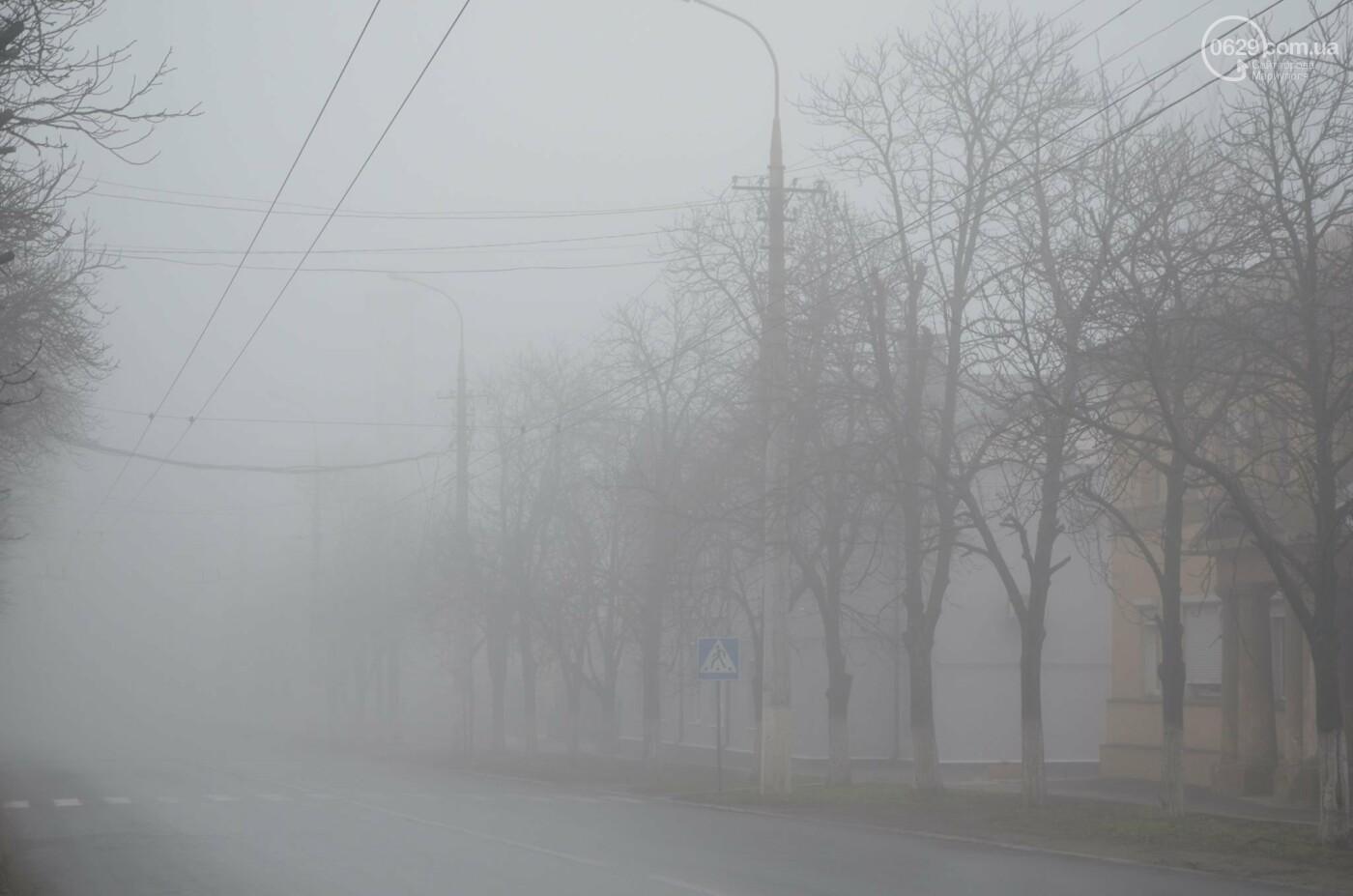 Мариуполь в тумане, усиливаются неблагоприятные метеорологические условия, - ФОТО, фото-4